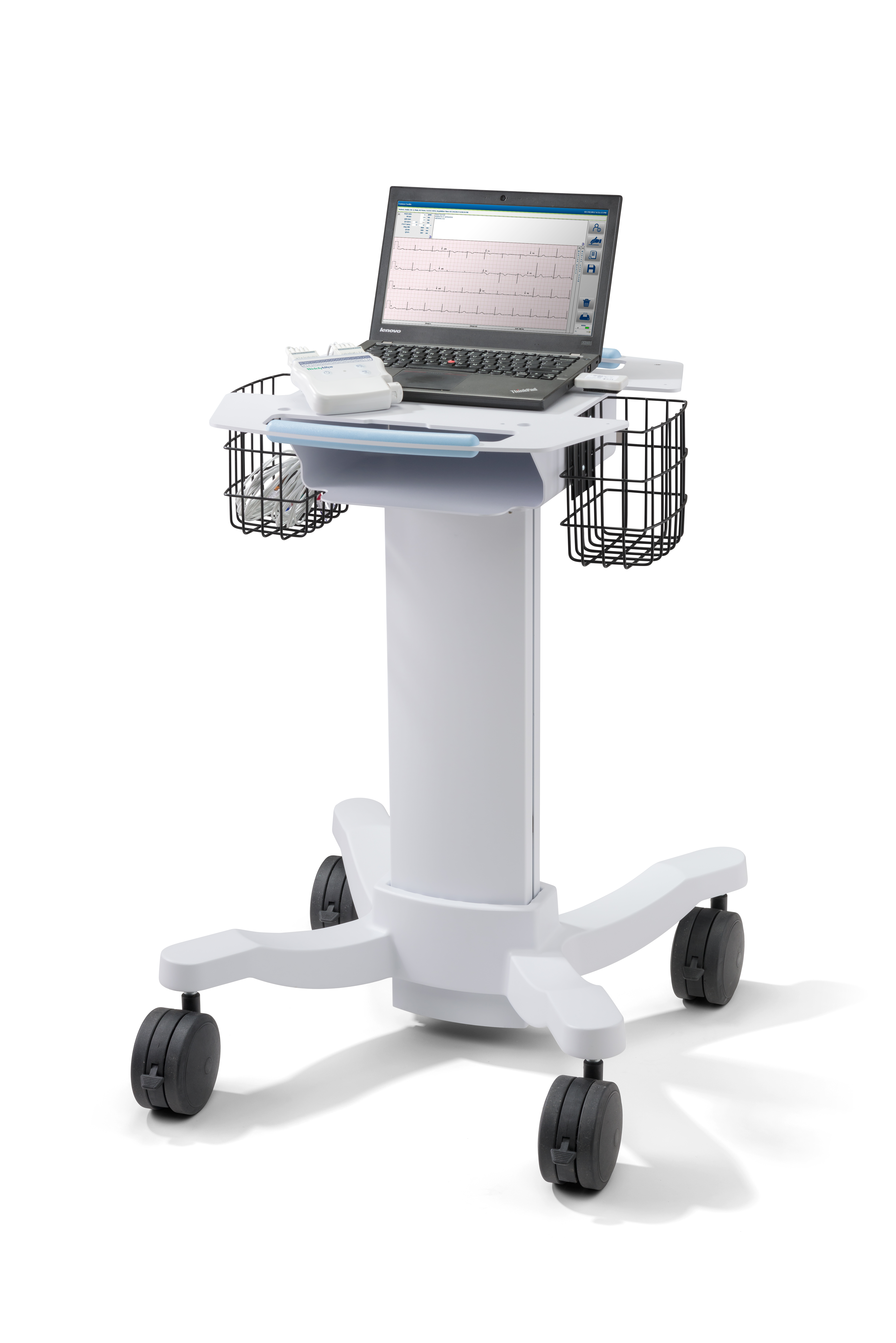 Diagnostic Cardiology Suite ECG Cart